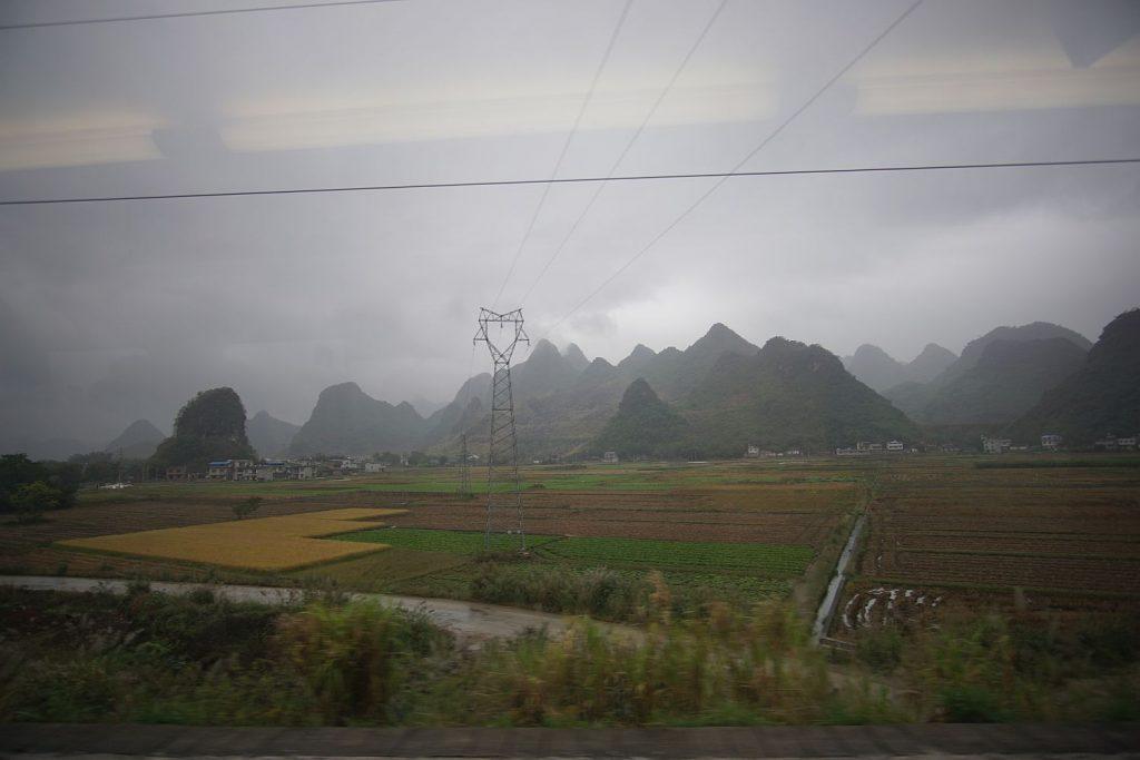 Malownicza trasa Guilin - Nanning.