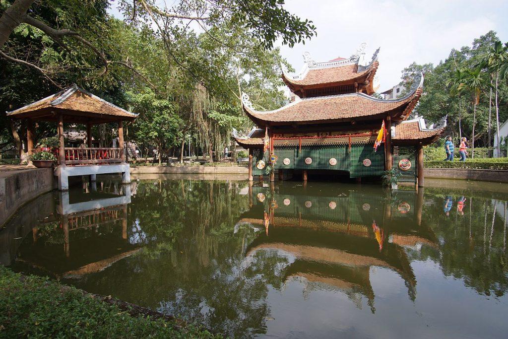 Muzeum etnograficzne w Ha Noi.
