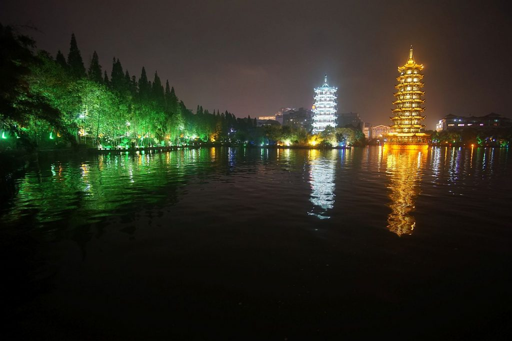 Darmowe widoki w Guilin.