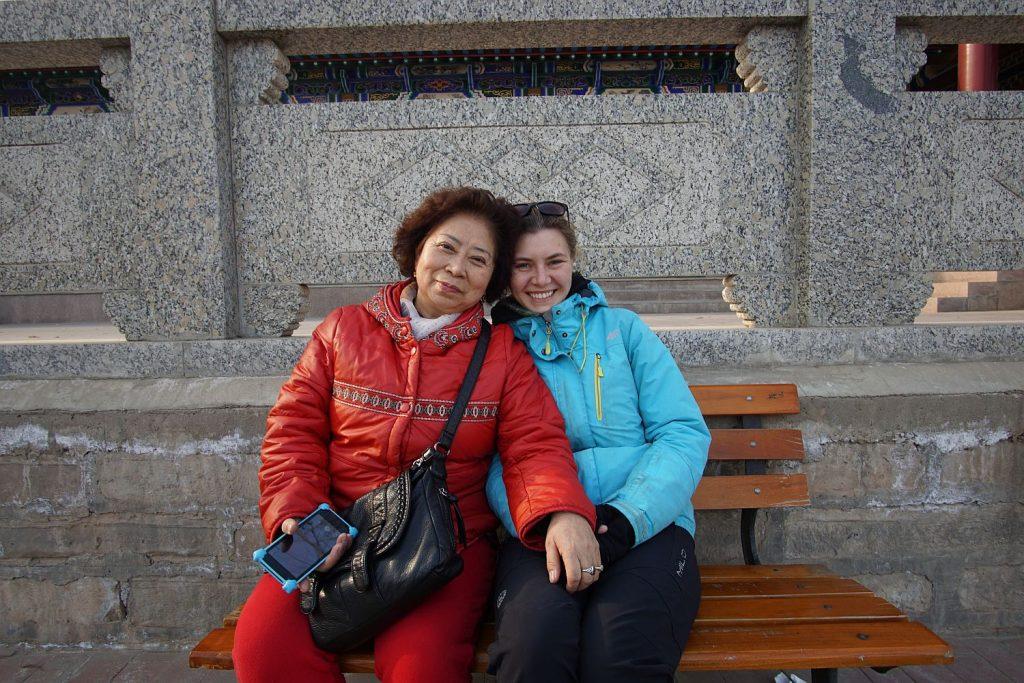 Zwiedzanie parku z prawdziwym localsem. Mama naszej hostki.