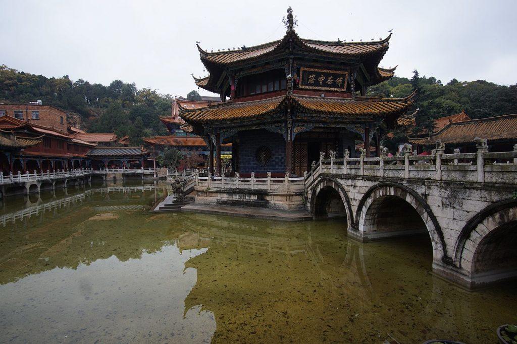 Świątynia buddyjska w Kunming.