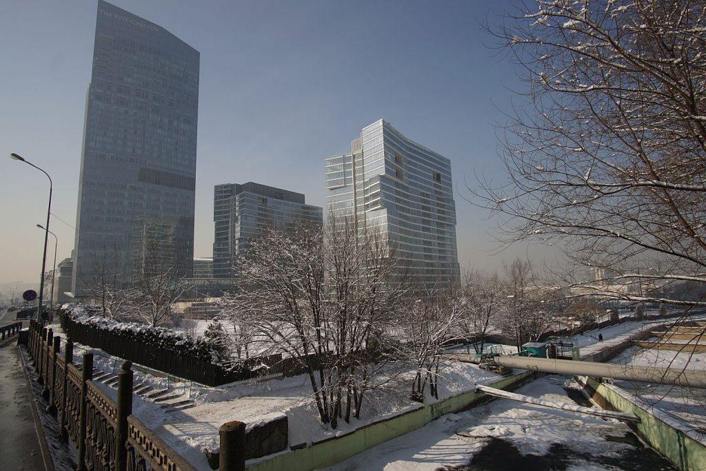 Almaty - biznesowe zagłębie.
