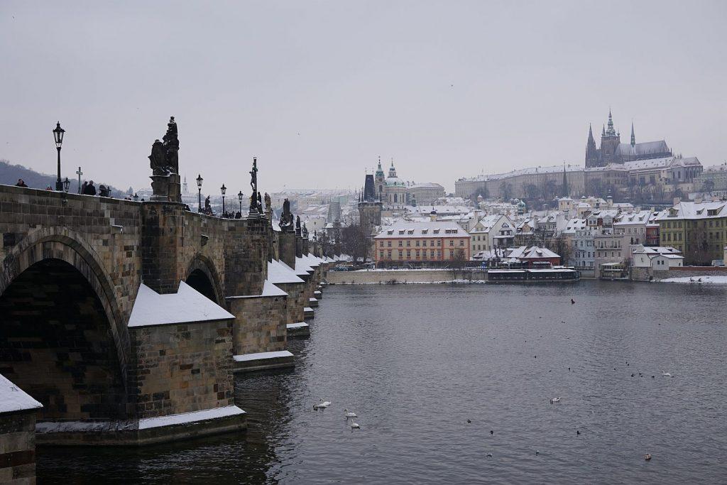 Klasyki Pragi - Most Karola, Zamek.