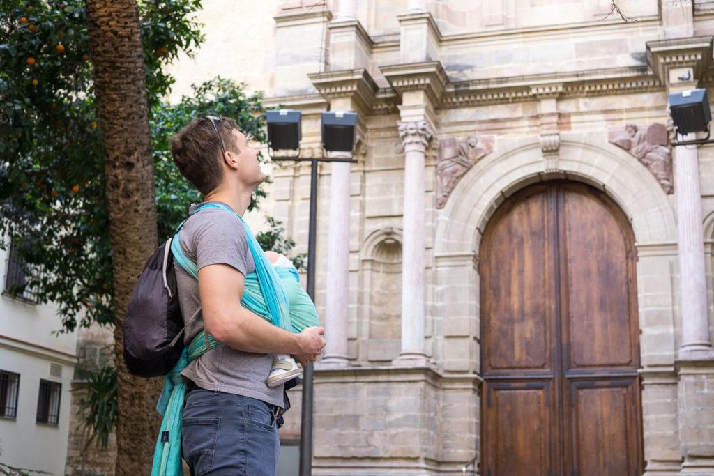 Kulisy organizacji chrztu w Hiszpanii, czyli pierwszy wyjazd we trójkę